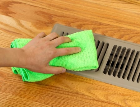 heating vent - Maid Services to Kernersville, Greensboro and surrounding areas