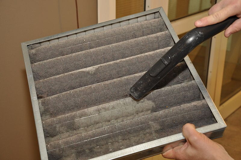 Dirty Air Filter - Maid Services to Kernersville, Greensboro and surrounding areas