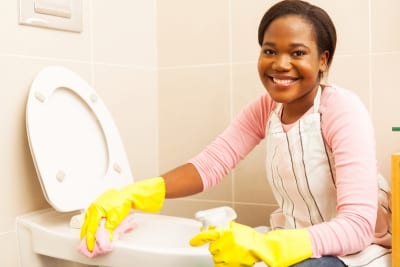 Bathroom - Residential Cleaning Service in Kernersville and Greensboro